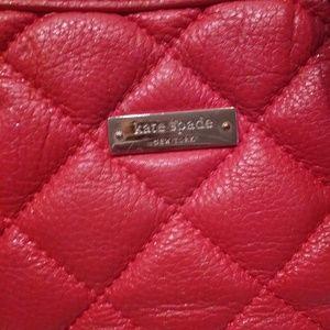 kate spade Bags - Kate Spade Orange Quilted Leather Shoulder Bag
